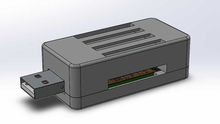 Корпус для датчика Modkam CO2 USB TypeA